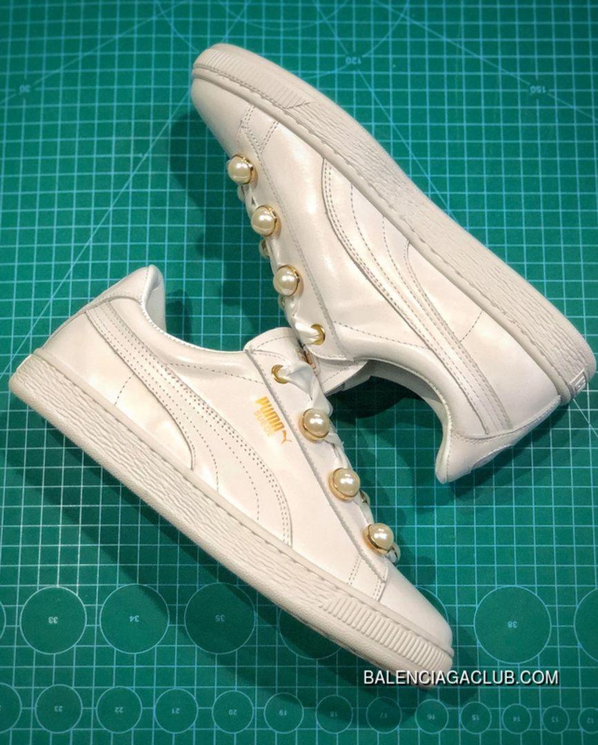 0232a7ec1bc1 Puma Suede Platform Bling Original New Arrival 2018 Women s Skateboarding  Shoes Sneakers Whisper White Best