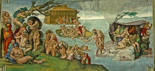 Cappella Sistina, The deluge #TuscanyAgriturismoGiratola
