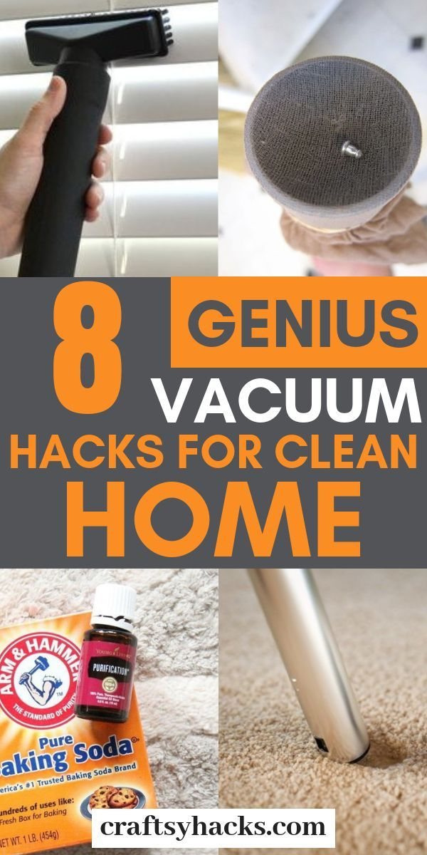 8 Genius Vacuum Hacks for Clean Home 8 Genius Vacuum Hacks for Clean Home  Try these genius vacuuming hacks and clean home much more efficiently and quickly These cleanin...