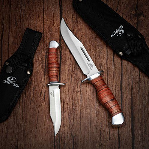 Top 10 Fixed Blade Hunting Knives Of 2020 No Place Called Home Fixed Blade Hunting Knives Knife Bowie Knife