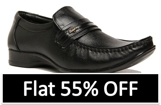 0a632d8d9a6 Exclusive offer on  Bata  footwear with Flat 55% OFF from  Amazon ...