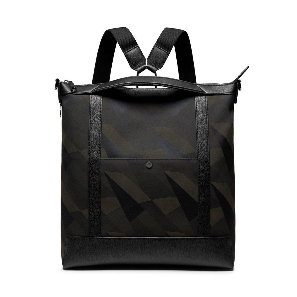 1888dd705713 The Perfect Gift for Him from Mulberry - Multitasker Backpack in Army Green  Dazzle Camo Canvas