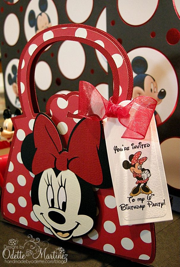 Handmade by Odette Invitations Pinterest – Handmade Mickey Mouse Birthday Invitations