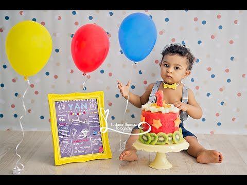 Smash the Fruit [Sessão de Fotos]. Yan, meu primeiro aninho - YouTube