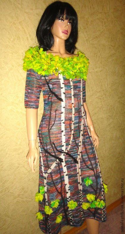 """Платье """"Осень в парке """" – купить на Ярмарке Мастеров ..."""
