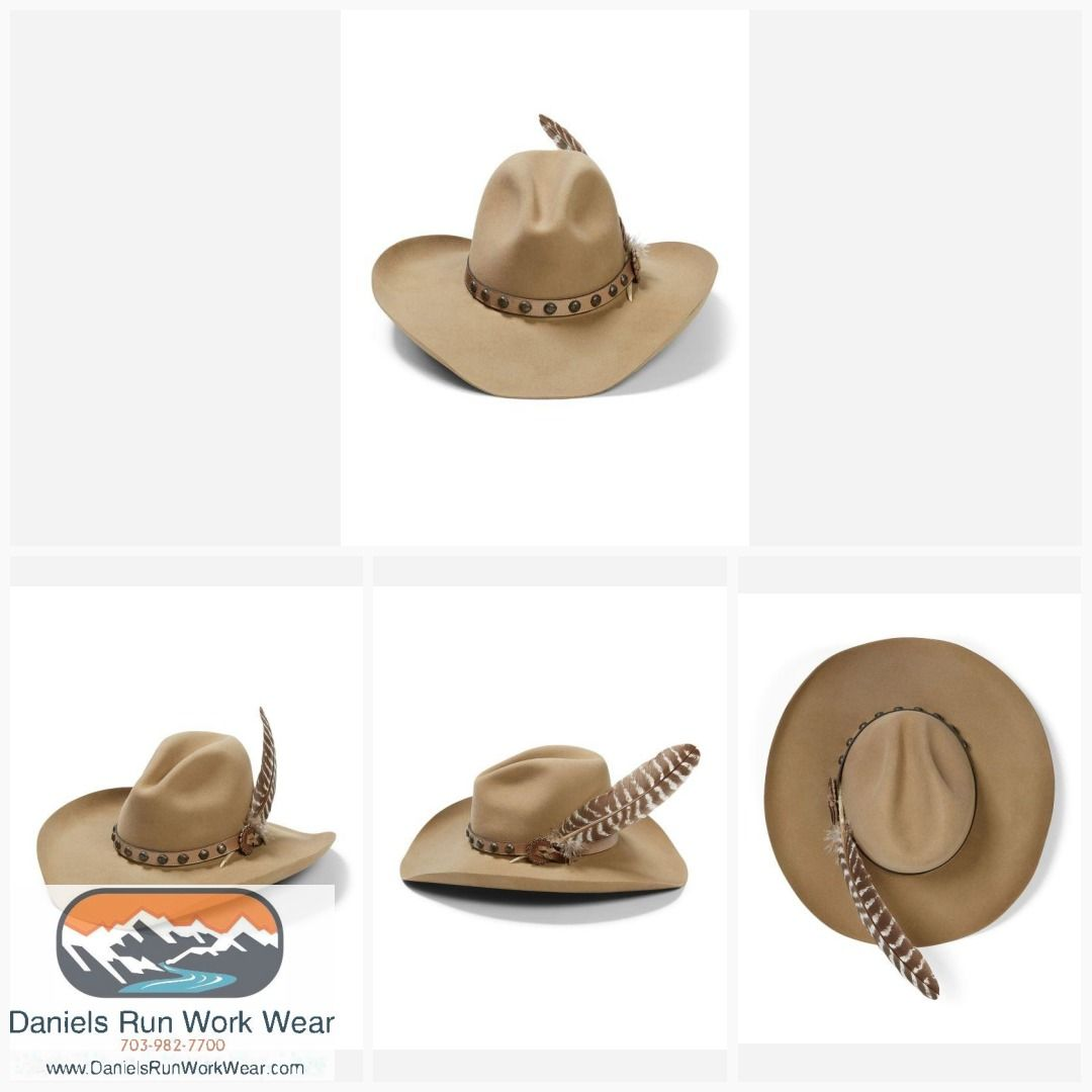 c1b43079 Stetson 4X Broken Bow Buffalo Cowboy Hat Item SBBBOW-6943 in 2019 ...
