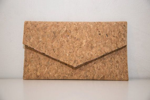 cc581ebd948b5 Cork Clutch-Eco Friendly Purse-Vegan bag-Handmade Bag-Gift for Her ...