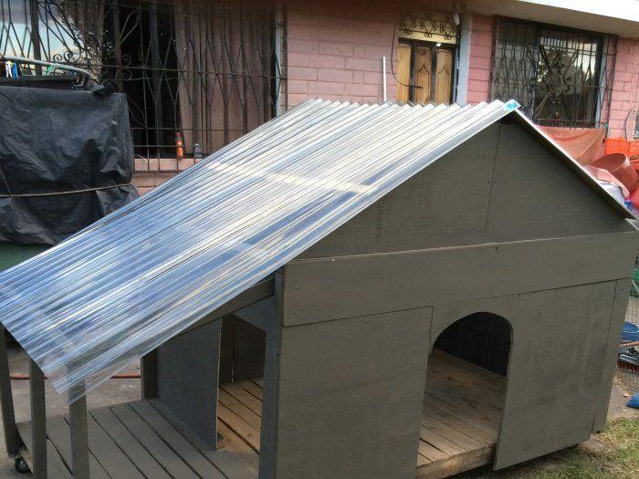 Hacer casa para perro paso a paso detallado parte 1 y 2 for Construir casa de perro