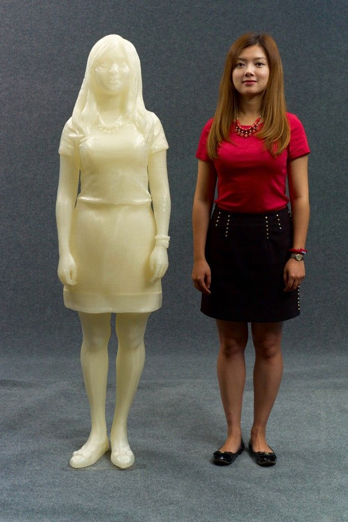 Kecheng!! 3DP Unlimited Clones One of Their Employees in 3D Printed Form http://3dprint.com/86705/3d-printed-clone-kecheng/