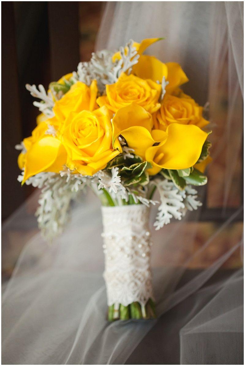 North Carolina Wedding With Yellow Details Yellow Weddings