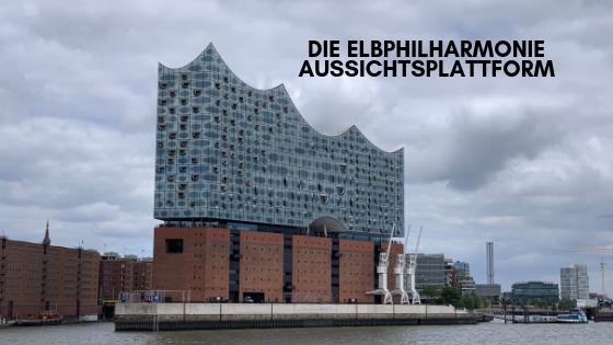 Die Elbphilharmonie Aussichtsplattform Aussichtsplattform Aussicht Und Gebaude