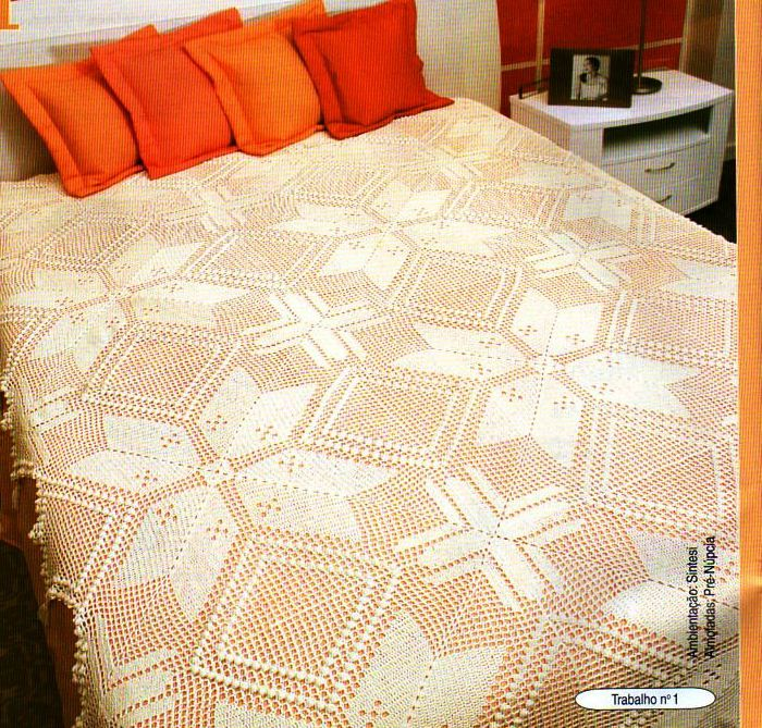 Solo esquemas y dise os de crochet tejidos crochet y 2 - Aplicaciones de crochet para colchas ...
