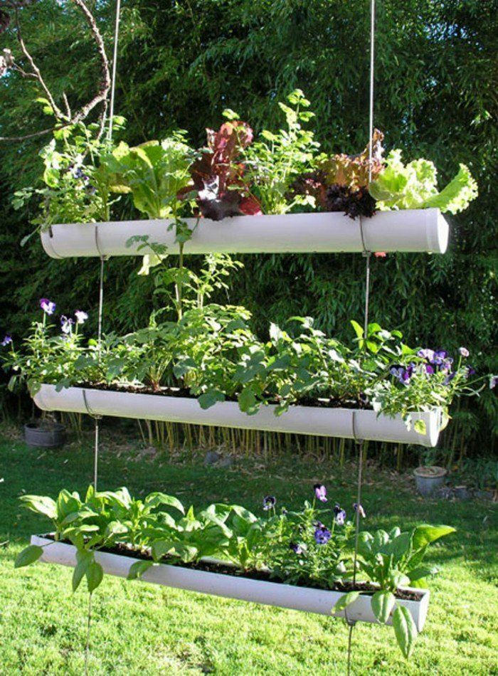 60 id es pour bien agencer son jardin exterieur cosy coin jardin jardins urbains potager - Agencer son jardin ...