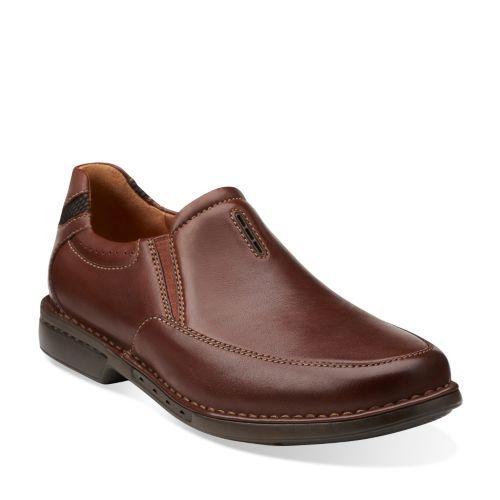 Casual Brown Mens corner Shoes Twin Leather ClarksMen's Un 4Rj35LA