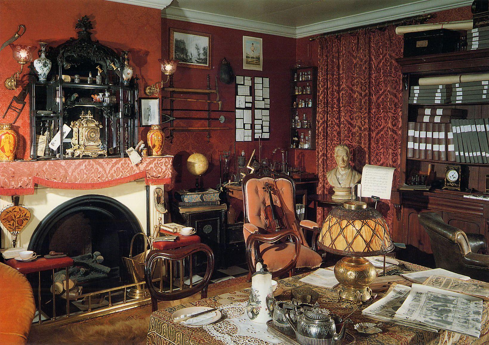 Best Sherlock Holmes Sitting Room