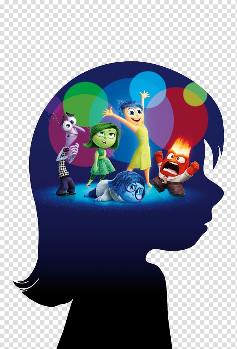 Inside Out Illustration Pixar Emotion Film Poster Brain Transparent Background Png Clipart Pixar Poster Spiritual Drawings Minnie Mouse Drawing