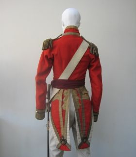 98f40a6ea94 The unique full dress and undress uniform worn by Ensign Daniel Tighe  Grenadier Guards circa 1817 who served at Waterloo and as second junior  Ensign ...