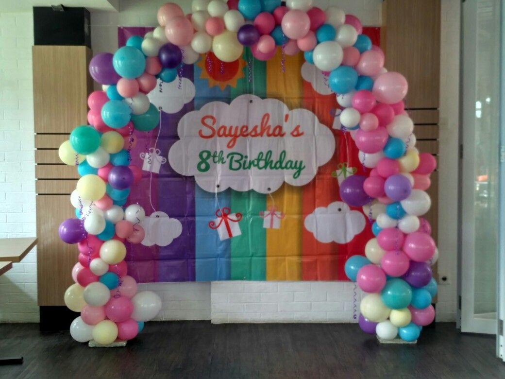 Balon Arch Or Balloon Balongapura Balloonarch Balloondecoration