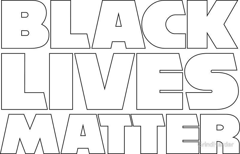 Black Lives Matter - 2017 #blacklivesmatter #sticker