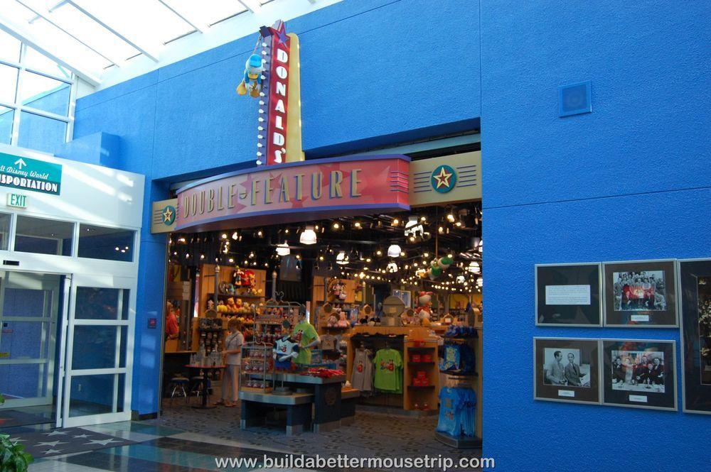 Disney's All Star Movies Double Feature Gift Shop