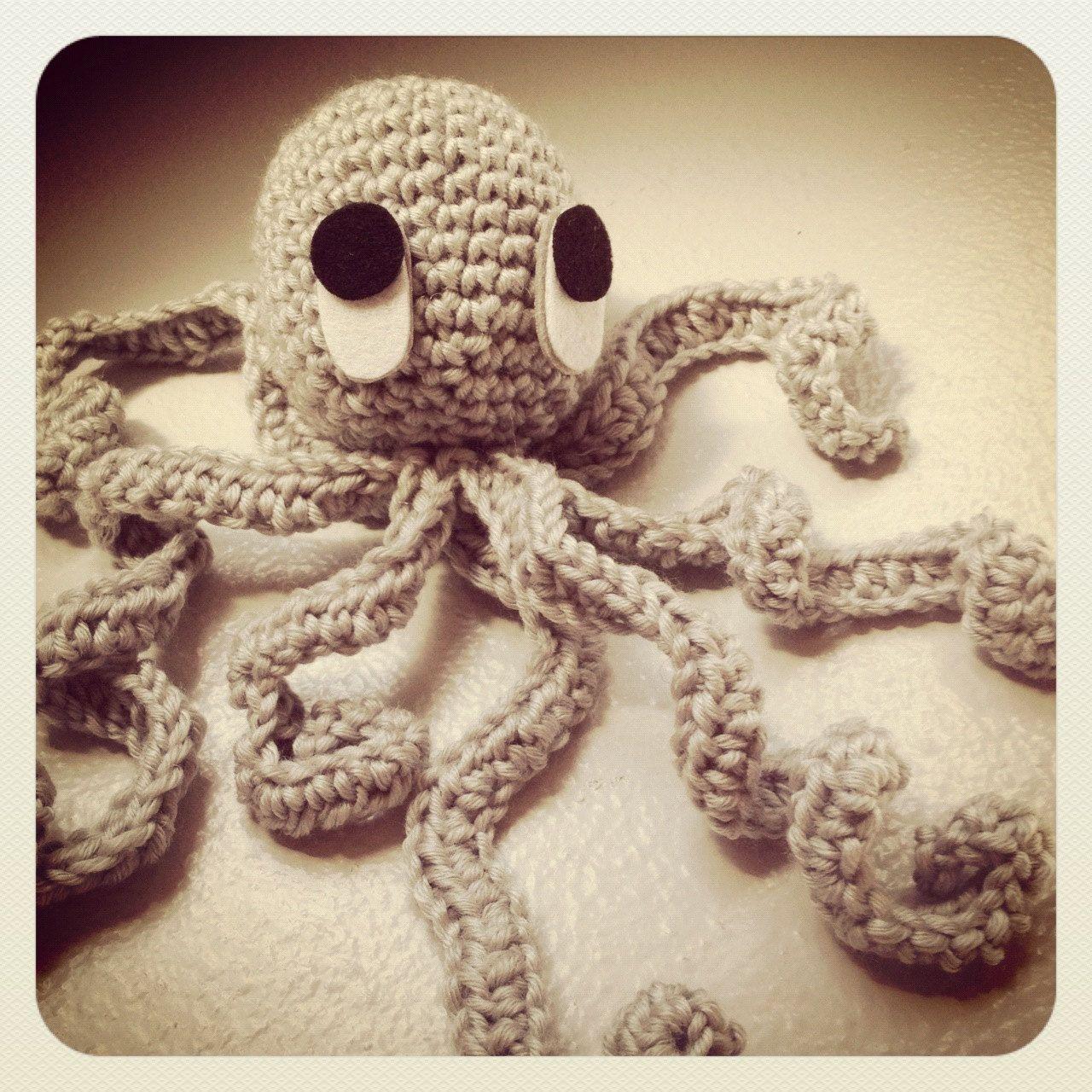 ollie the octopus kids crochet toy crochet pinterest kids
