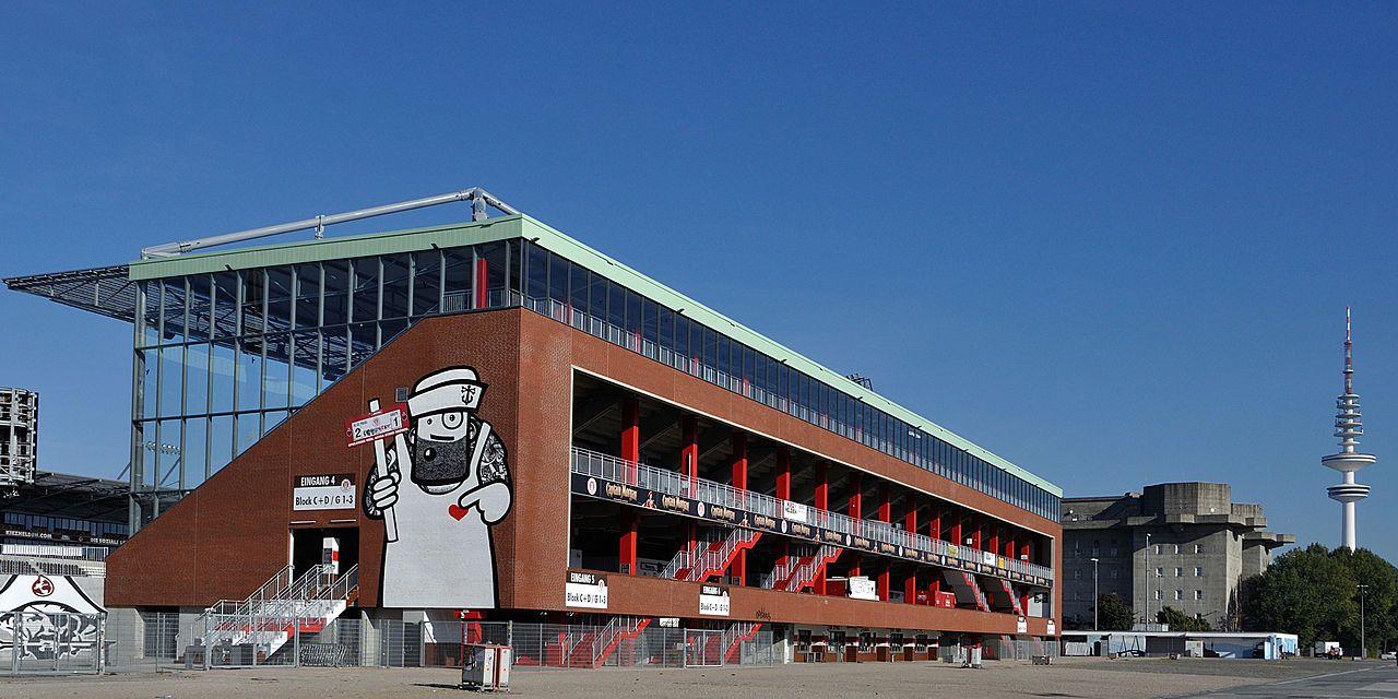 Millerntor-Stadion ( FC St.Pauli) Gegengerade