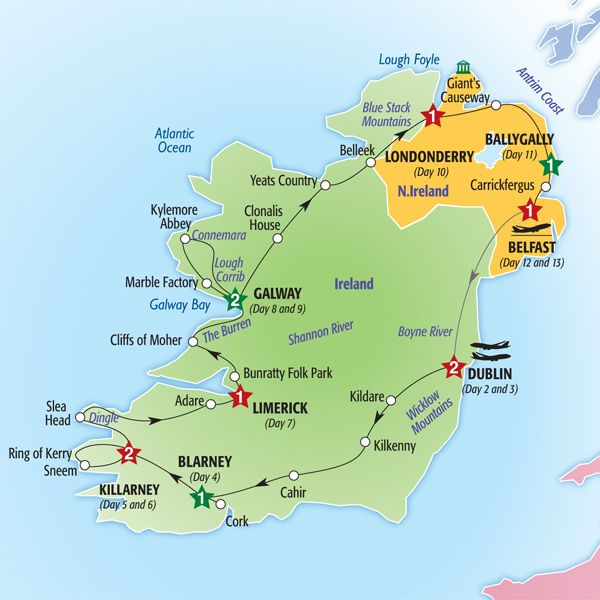 Magical Places To Stay In Europe: Enjoy The Country Roads Of Ireland On This Magical Holiday