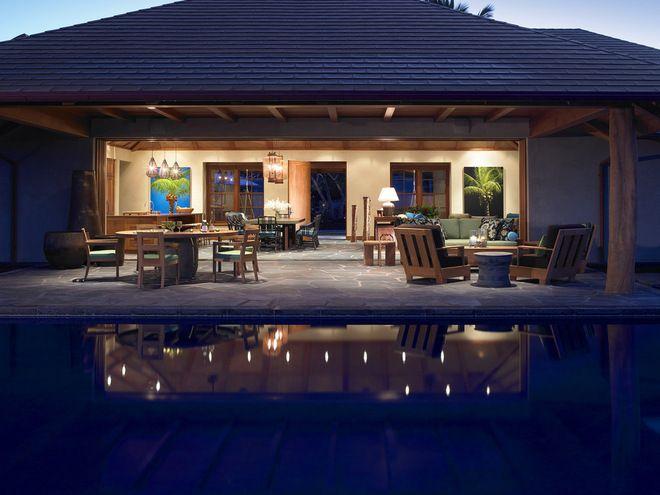 Tropical Exterior by Dara Rosenfeld Design