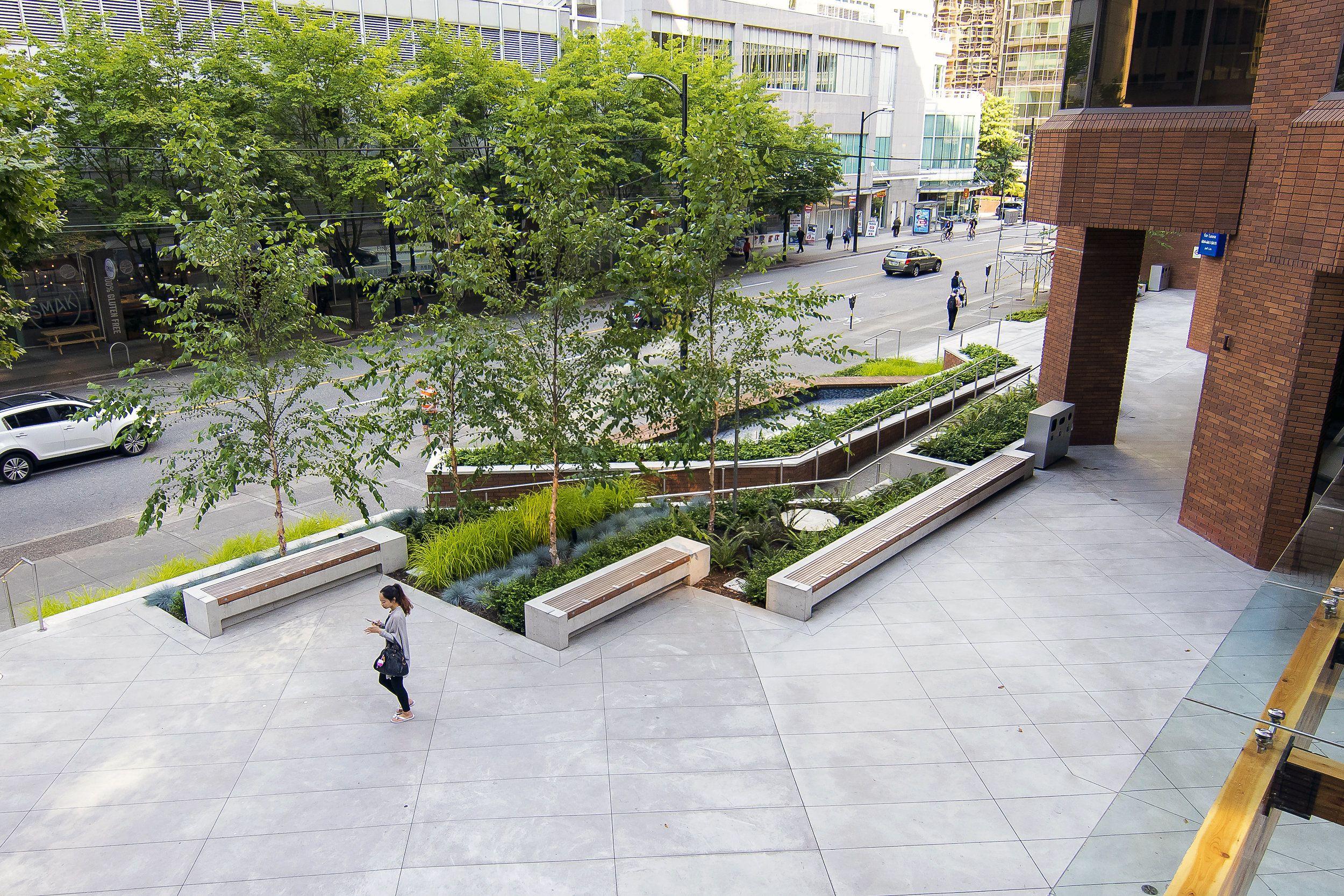 Vancouver Streetscape Design Modern Landscape Design Modern Landscaping