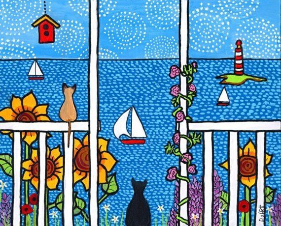Summer Days by AliceinParis on Etsy, $20.00 - (note from Donna) love this one too!