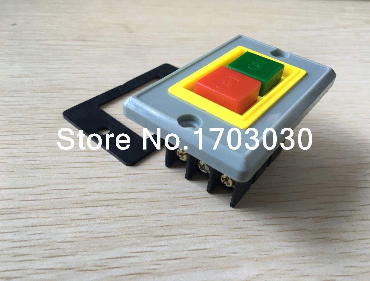 2pcs Qks2 5 On Off Self Locking Push Button Switch 3 Phase 3p 380v 12v Selflock Square Led Light Momentary Latching