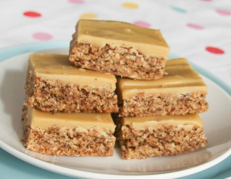 Gluten free Weetbix slice - the ginger version