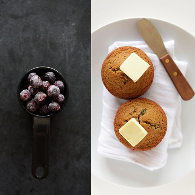 Vegan Gluten Free Blueberry Muffins For 2 Minimalist Baker