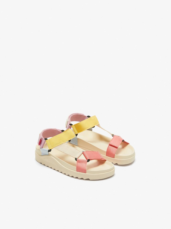 كارولين جريمة خياط Sandalias Para Niña Zara Plasto Tech Com