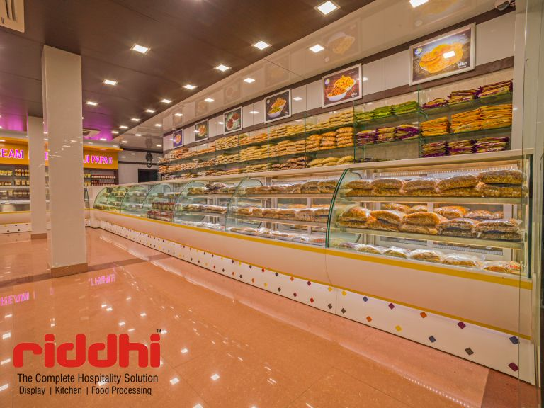 Fast Food Display Case Counter that Make Your Bakery Items