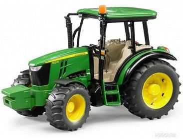 The John Deere 5115M from the Bruder Tractor collection.  One of our favourite models in the Bruder Tractor and Trailer range is the Bruder John Deere 5115M.