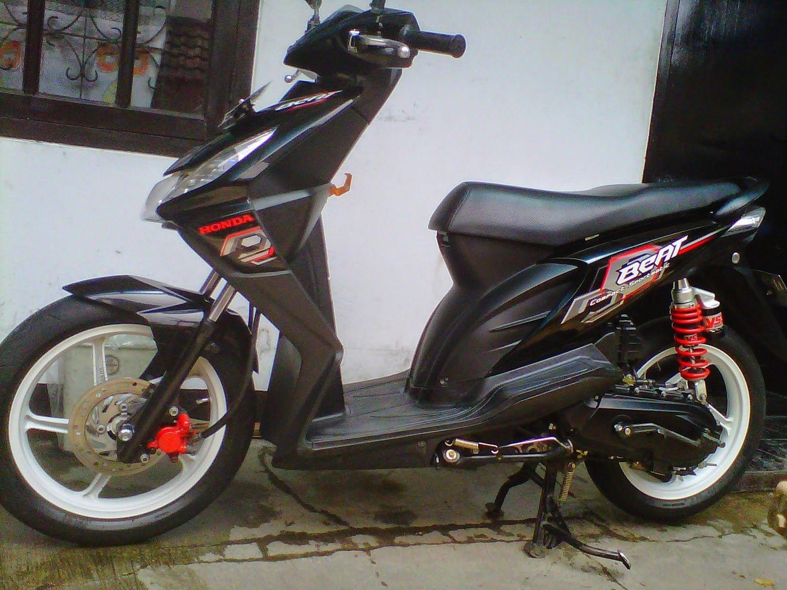 Harga Modifikasi Motor Beat Karbu Honda Motor Motor Honda