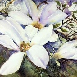 Anne Blockley  <Magnolias