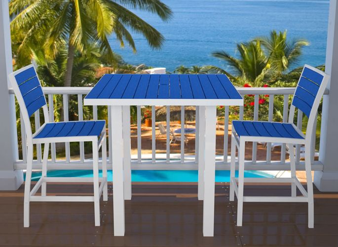 Ideas for colors to paint the patio furniture