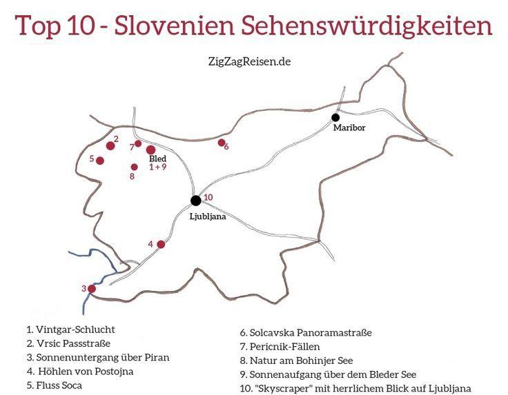 Top 35 Slowenien Sehenswurdigkeiten Natur Architektur Mit