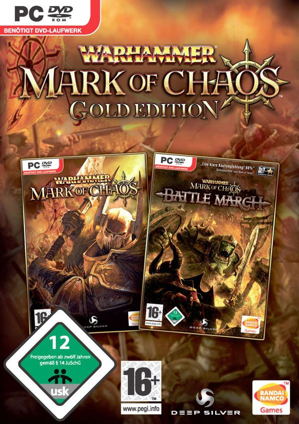 warhammer mark of chaos - gold edition скачать