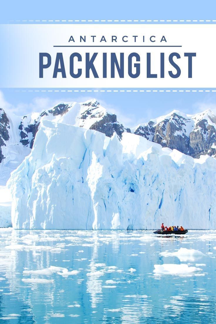 Antarctica Cruise Packing List The Essential Clothing