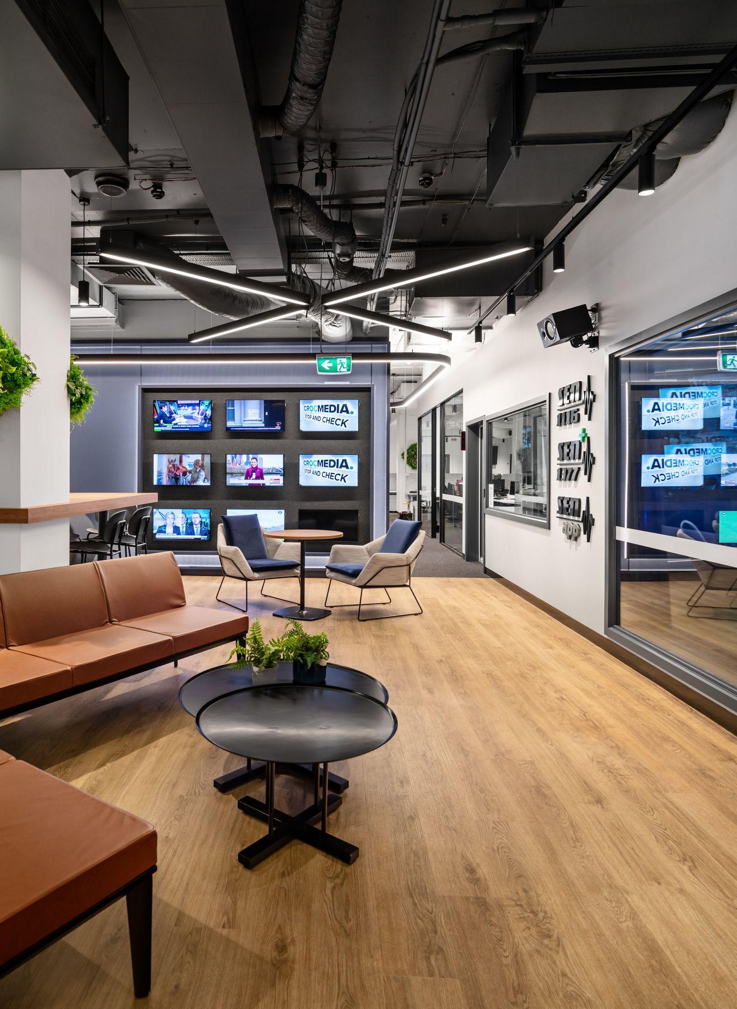 crocmedia offices melbourne office snapshots lounge