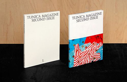 Publication: Folch Studio step up to design the second issue of Tunica magazine