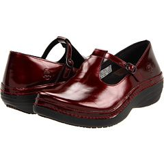 Timberland Pro Renova Professional Mary Jane in Garnet Metallic.