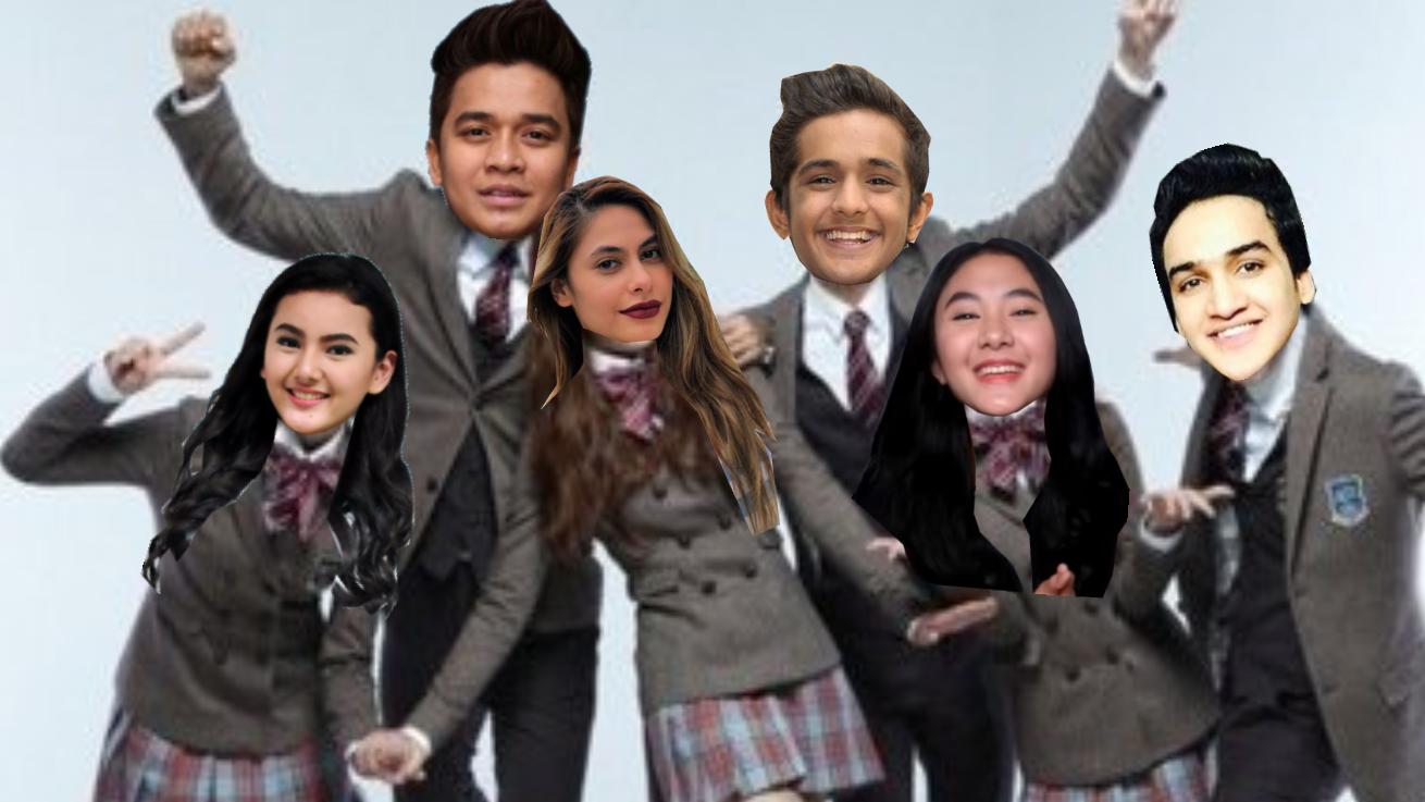 Anak Sekolah The Series alias Dream High School (2018