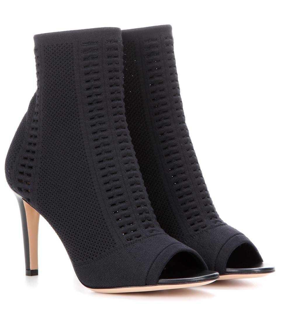 Gianvito Rossi Stretch Knit Ankle Boots sale under $60 2014 newest sale online clearance recommend top quality sale online discount factory outlet qJJVKDI