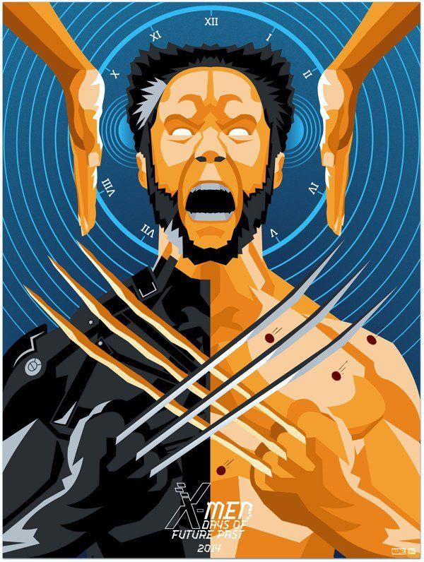 Movie Friday: X-Men: Days of Future Past Fan Art
