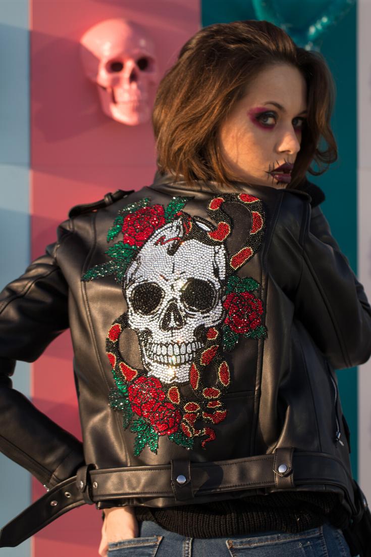 Black Leather Jacket Women for WInter Classy Leather Jacket Style Outfit Fashion Winter Jacket