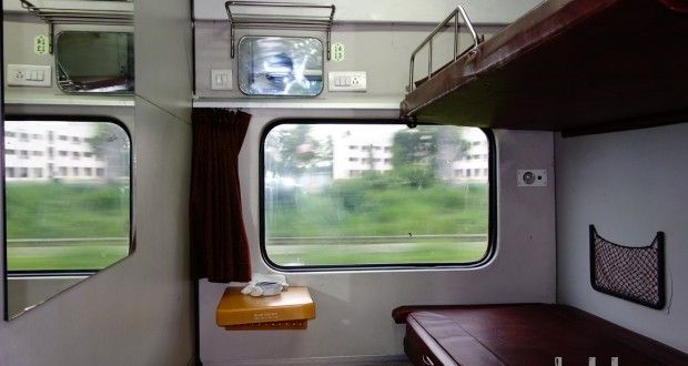 Inside A First Class Ac Honeymoon Coupe Indian Railways